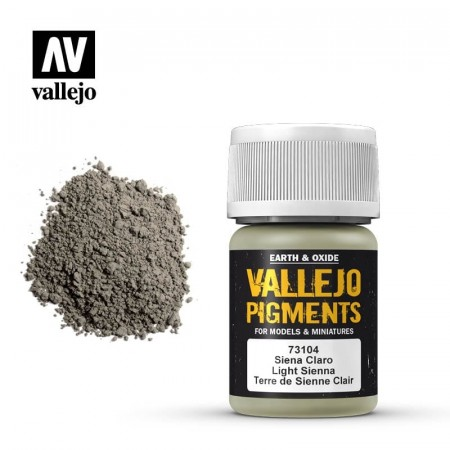 Vallejo Pigments Light Sienna 35ml