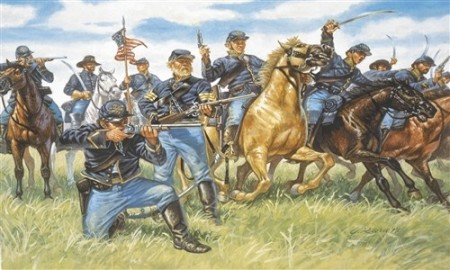 Italeri 1/72 Union Cavalry American Civil War 6013