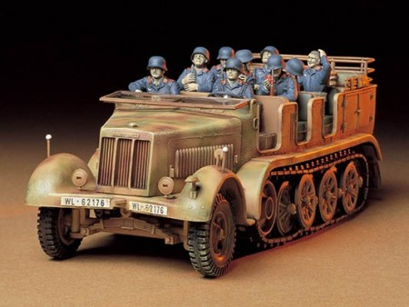 Tamiya 1/35 German 8ton Semi Track Sd.kfz.7