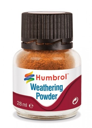 Humbrol Weathering Powder - Rust 28ml