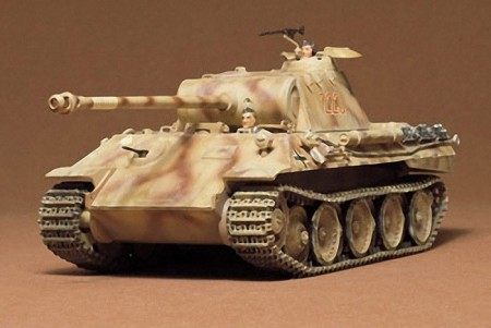 Tamiya 1/35 German Panther Medium Tank