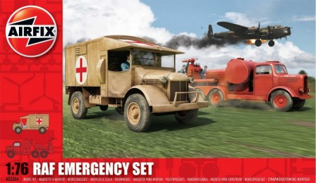 Airfix byggesett 1/76 RAF Emergency Set A03304
