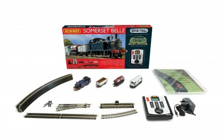 Hornby Togbanesett Digital Somerset Belle