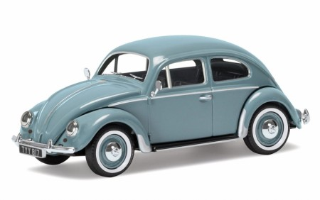 Corgi 1/43 VW Beetle, Type 1 Export Saloon Horizon Blue Limited Edition