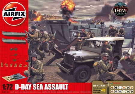 Airfix Gavesett 1/72 D-Day Sea Assault A50156