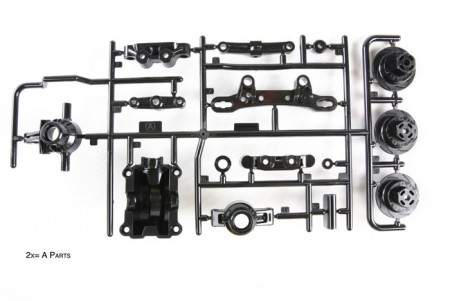 51527 Tamiya TT-02 A Parts (Upright)