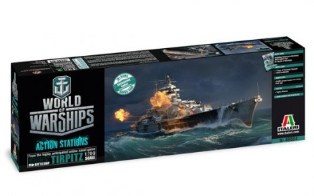 Italeri 1/700 World of Warships Tripitz m/Lim