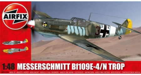 Airfix byggesett 1/48 Messerschmitt Bf109E-4/N Tropical A05122A