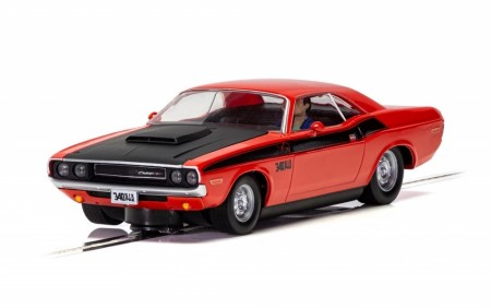 Scalextric 1/32 Dodge Challenger Red and Black