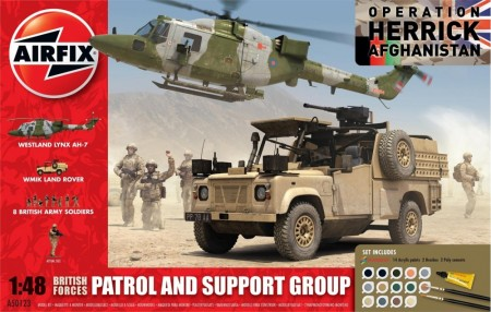 Airfix Gavesett 1/48 Patrol and Support Group A50123