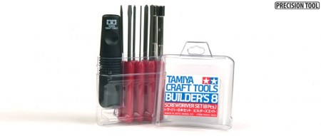 Tamiya Builder´s 8 Screwdriver Set