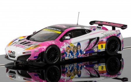 Scalextric bil 1:32 McLaren 12C GT3 Pacific Racing (Anime) No.9