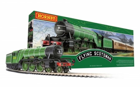 Hornby Togbanesett Flying Scotsman DCC Ready