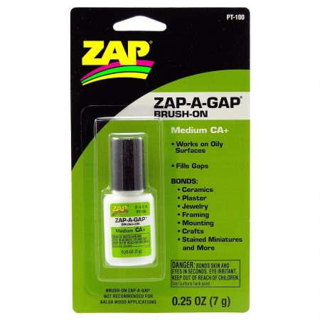 ZAP A Gap Medium CA+ m/børste 7g PT100