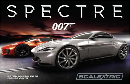 Scalextric bilbane 1:32 James Bond 007 Spectre C1336