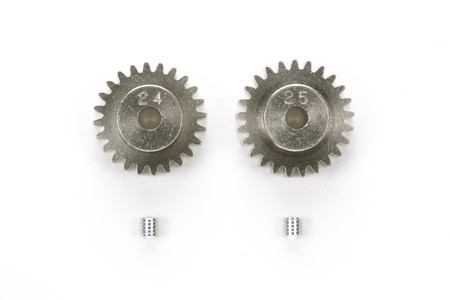 50477 Tamiya 24T, 25T AV Pinion Gear Set