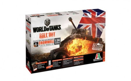 Italeri 1/56 World of Tanks Cromwell m/Lim