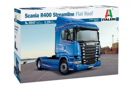 Italeri 1/24 Scania R400 Streamline Flat Roof