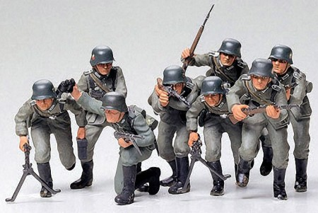 Tamiya 1/35 German Assault Troops