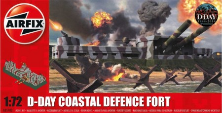 Airfix byggesett 1/72 D-Day Coastal Defence Fort A05702