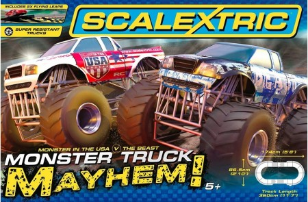 Scalextric bilbane 1:32 Monster Truck Mayhem C1302P