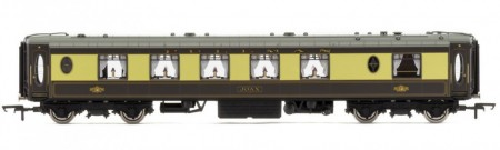 "Hornby K-Type Pullman 1st Class Kitchen Car ""Joan"" m/Lys R4696"