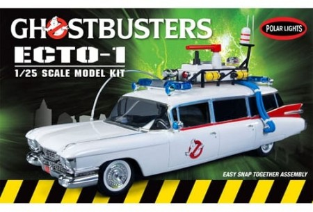 PolarLights 1/25 Ghostbusters Ecto-1 Snap Kit