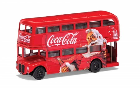Corgi 1/64 Coca-Cola Christmas London Bus