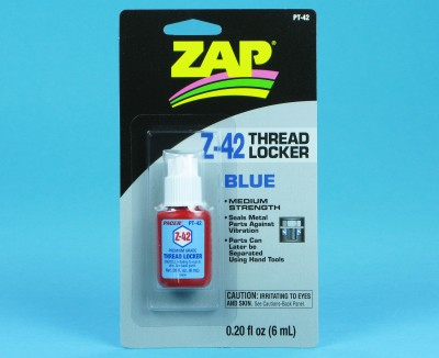 ZAP Thread Locker Z-42 (Blue) 6ml PT42