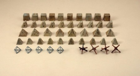 Italeri 1/72 Anti Tank Obstacles