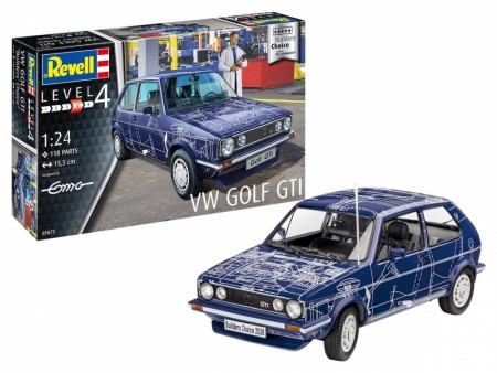 "Revell Startsett 1/24 VW Golf GTI ""Builders Choice"""
