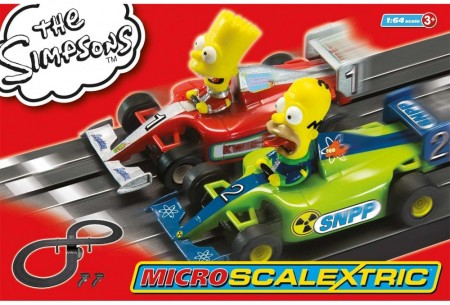 Scalextric bilbane 1:64 Simpsons G1117