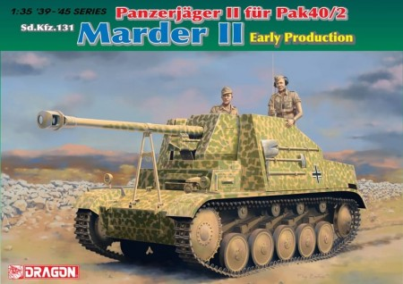 Dragon 1/35 Sd.Kfz.131 Marder II (Early Production)