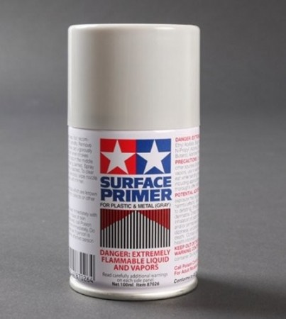 Tamiya Sprayboks Surface Primer Gray - 100ml