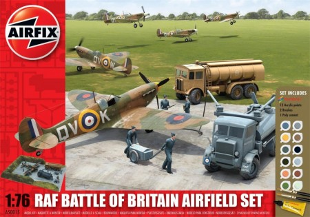 Airfix Gavesett 1/76 RAF Battle of Britain Airfield Set A50015