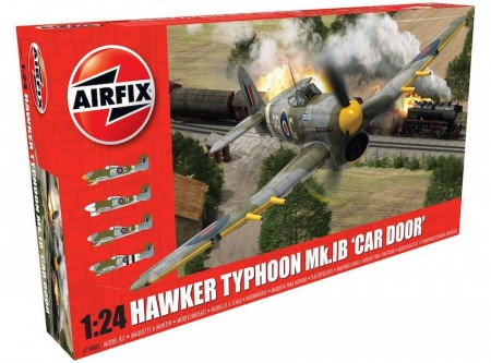 Airfix 1/24 Hawker Typhoon Mk.IB Car Door A19003
