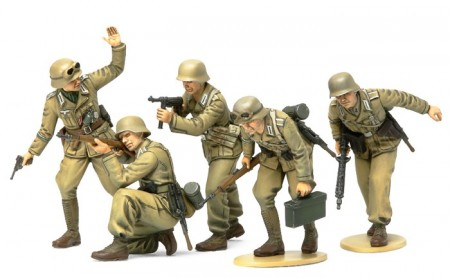 Tamiya 1/35 WWII German Africa Corps Infantry Set