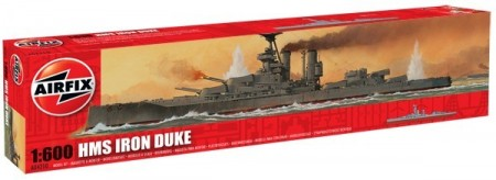 Airfix byggesett 1/600 HMS Iron Duke A04210