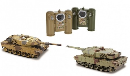 TechToys Radiostyrte Battle Tanks 2stk. RTR