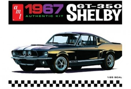 AMT 1/25 Ford Shelby GT-350 1967 (Black)
