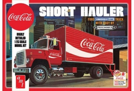 AMT 1/25 Ford Louisville Short Hauler Coca-Cola 1970