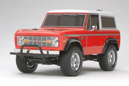 Tamiya RC byggesett 1/10 Ford Bronco 1973 4WD (CC-01)