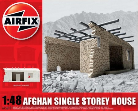 Airfix plastmodell 1/48 Afghan Single Storey House A75010