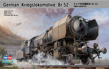 HobbyBoss 1/72 German Kriegslokomotive Br 52
