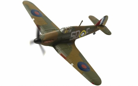 Corgi 1/72 Hawker Hurricane Mk.I, Sgt. J.H 'Ginger' Lacey, September 1940