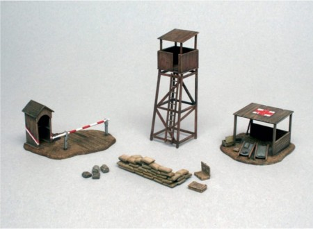 Italeri 1/72 Battlefield Buildings WWII