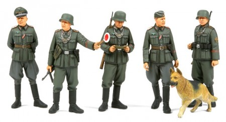 Tamiya 1/35 WWII German Military Police Set