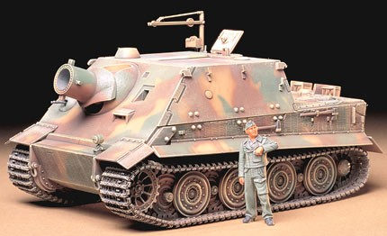 Tamiya 1/35 German Sturmtiger 38cm Assault Mortar