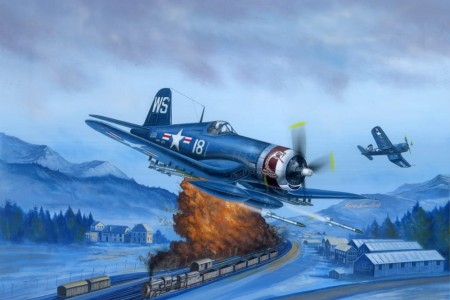 HobbyBoss 1/48 F4U-4 Corsair Late Version