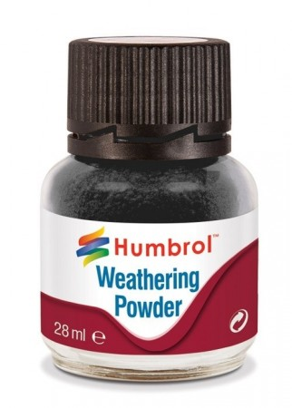Humbrol Weathering Powder - Black 28ml